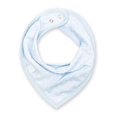 Bavoir bandana stary print frost Bemini
