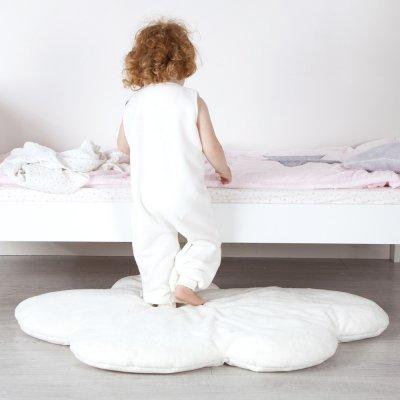 Tapis de chambre bébé 75x110cm cloud écru Bemini