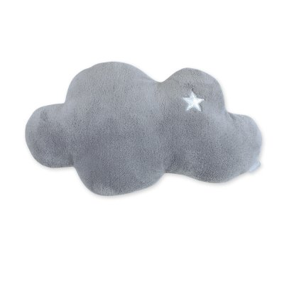 coussin d co b b nuage softy stary grizou de bemini sur allob b. Black Bedroom Furniture Sets. Home Design Ideas