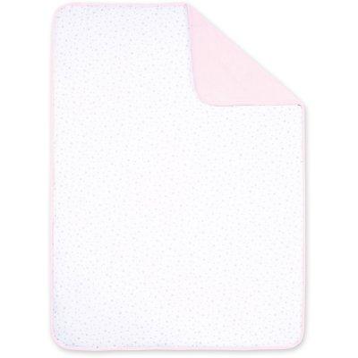 Couverture réversible softy et coton 75x100 Bemini