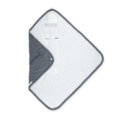 Couverture pour siège auto biside pady jersey bmini mix grey Bemini