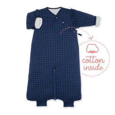 Gigoteuse hiver 3-9 mois pady jersey yoshi blue Bemini