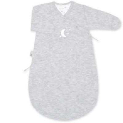 Gigoteuse hiver 0-3 mois pady jersey stary tom chiné Bemini