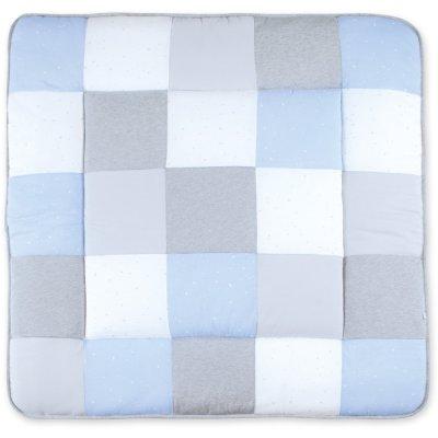 Tapis de parc patchwork 100x100 stary frost Bemini
