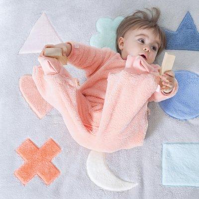 Tapis de parc bébé 75x95cm softy pixar plum Bemini