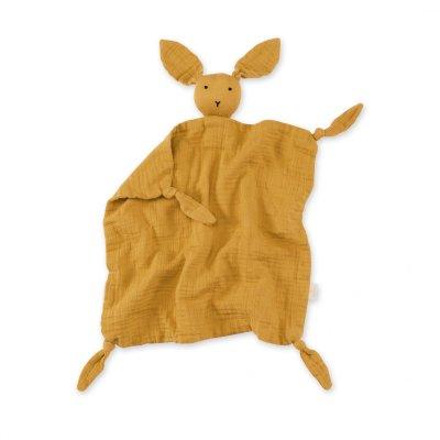 Doudou lange lapin golden Bemini