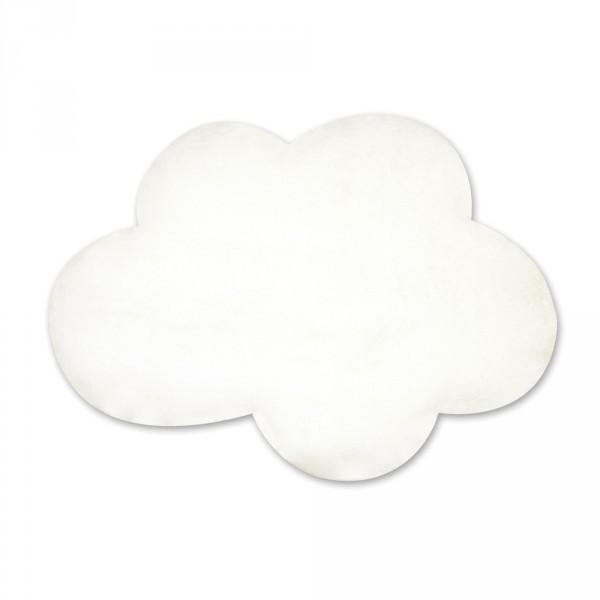 Tapis de chambre bébé 75x110cm cloud écru