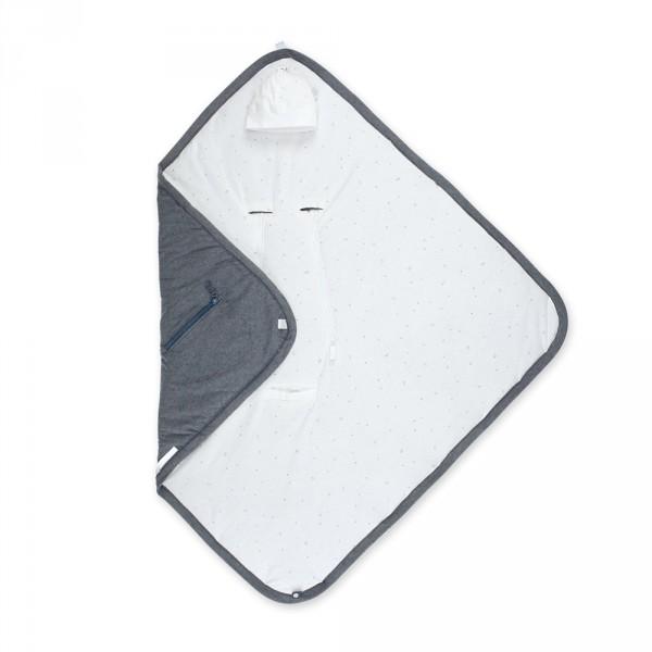 Couverture pour siège auto pady jersey bmini mix grey Bemini