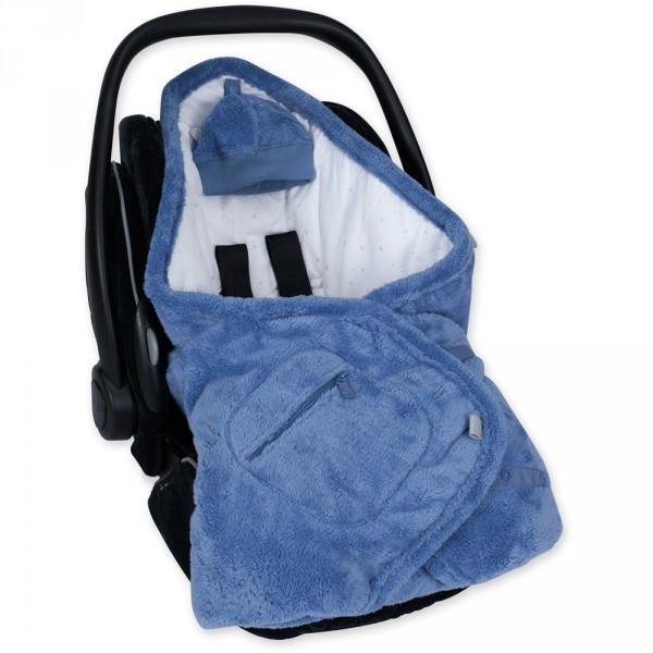 Couverture pour siège auto coton et softy stary shade Bemini