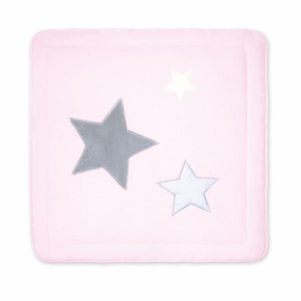Tapis de parc bébé 100x100cm softy stany cristal Bemini