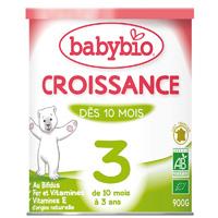 Bio lait de suite croissance à partir de 10 mois 900 g