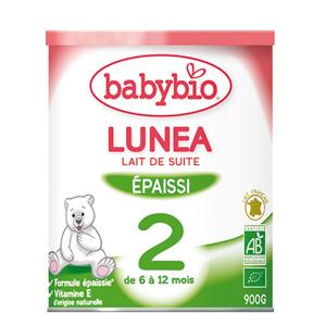 Bio lunea lait de suite à partir de 5 mois 900 g