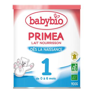 Lait nourisson priméa 1 bio 0-6 mois Babybio