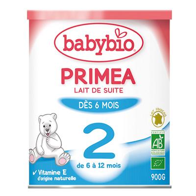 Lait nourisson priméa 2 bio 6-12 mois Babybio