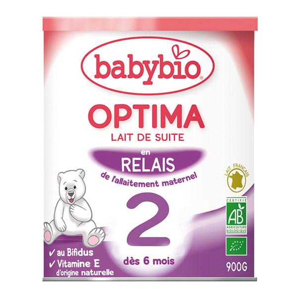Bio optima lait de suite à partir de 5 mois 900 g Babybio