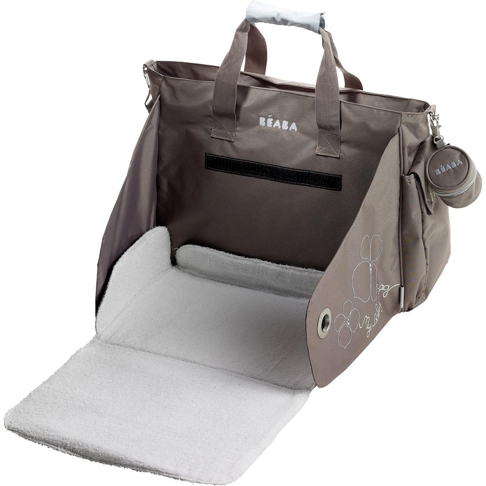 sac langer sydney gris bleu 25 sur allob b. Black Bedroom Furniture Sets. Home Design Ideas