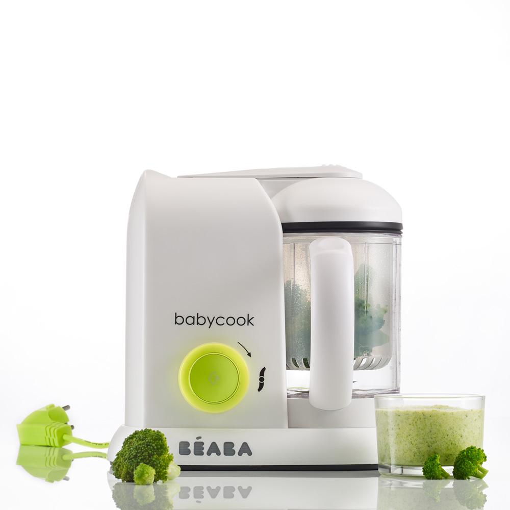 robot de cuisine babycook neon de beaba chez naturab b. Black Bedroom Furniture Sets. Home Design Ideas