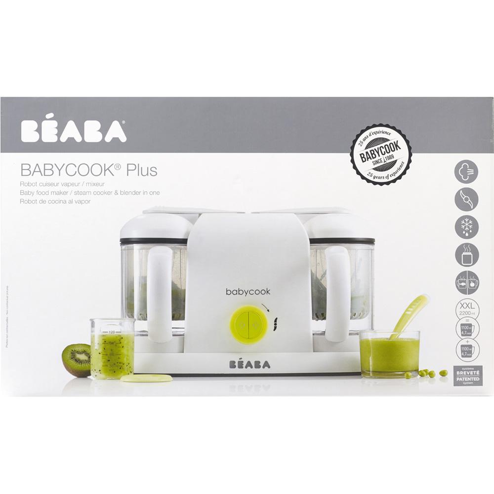 robot de cuisine babycook plus neon de beaba chez naturab b. Black Bedroom Furniture Sets. Home Design Ideas