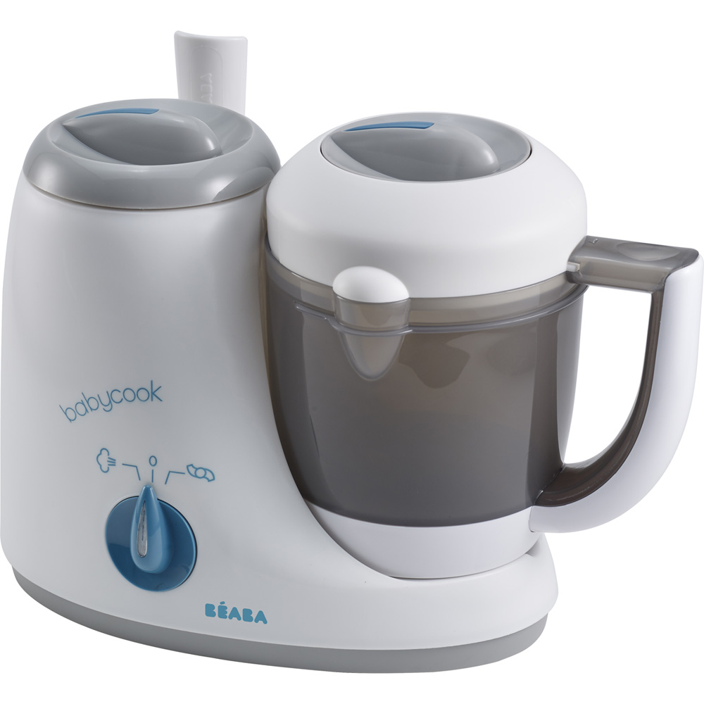 Robot de cuisine babycook original grey blue de beaba - Robot cuisine cuisson ...