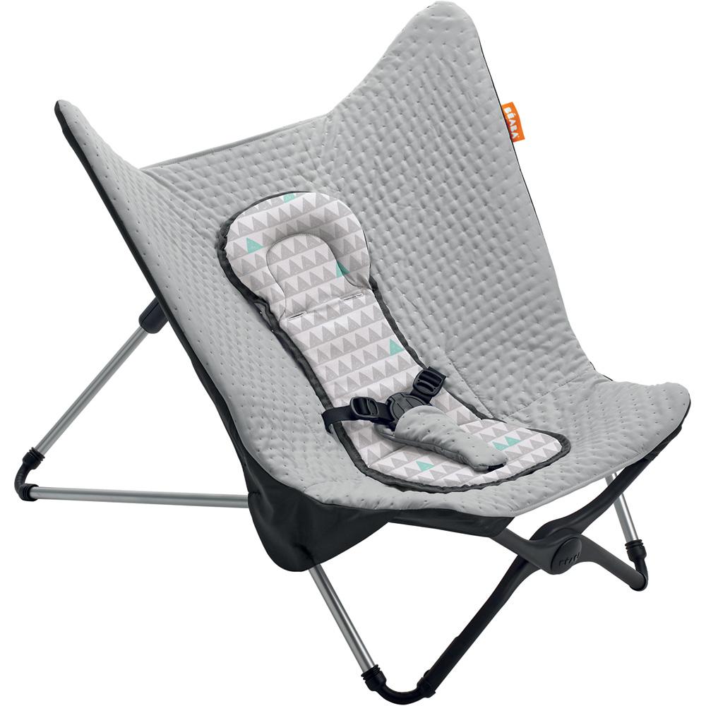 transat b b compact volutif grey melange de beaba sur allob b. Black Bedroom Furniture Sets. Home Design Ideas