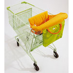 Siege confort pour caddie vert/orange pas cher