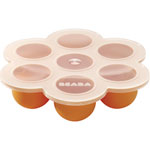 Multi portions silicone orange pas cher