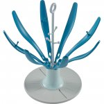 Sèche biberon pliable flower blue