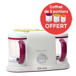 Babycook duo gipsy avec coffret 3 portions offert pas cher