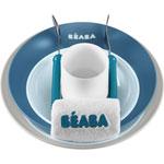 Coffret bébé boite repas ellipse blue