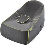 Transat pour bebe baby lounge uni gris pas cher