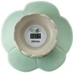 Thermomètre de bain bébé lotus bleu pas cher