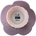 Thermomètre de bain bébé lotus rose pas cher