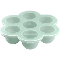 Multiportions silicone bleu