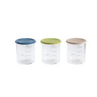 Pot de conservation maxi portion 240 ml (coloris assortis blue/ neon / nude)