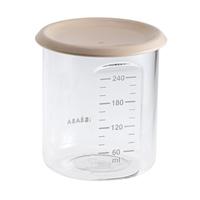 Pot de conservation maxi portion 240 ml tritan nude