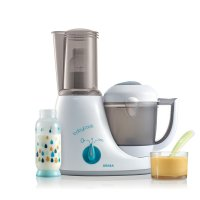 Robot de cuisine babycook original plus grey / blue
