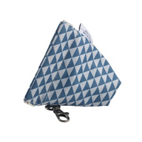 Trousse range-sucette play print blue