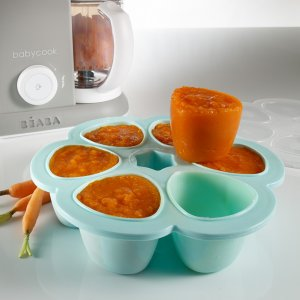 Beaba Multiportions silicone blue150 ml