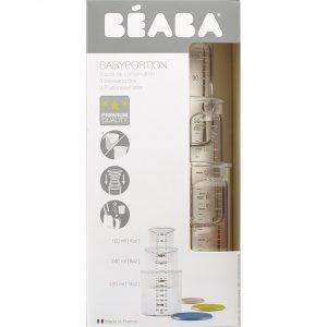 Beaba Coffret 3 portions (1 baby / 1 maxi / 1 maxi +)
