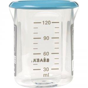 Beaba Pot de conservation baby portion 120 ml tritan blue