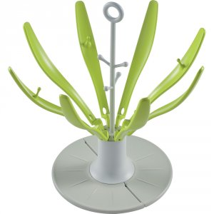 Sèche biberon pliable flower neon
