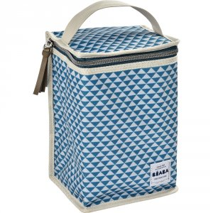 Pochette repas isotherme play print blue