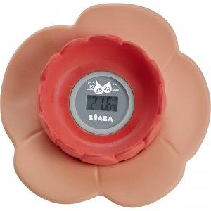 Thermométre de bain lotus nude / corail