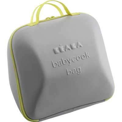 Babycook bag grey / yellow Beaba