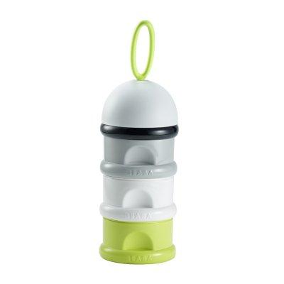 Boîte doseuse de lait empilable neon Beaba