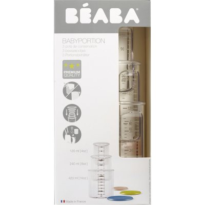 Coffret 3 portions (1 baby / 1 maxi / 1 maxi +) Beaba