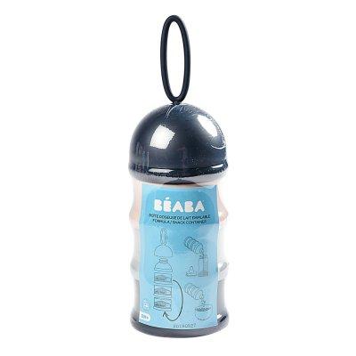 Boîte doseuse de lait empilable (blue, grey, pink) Beaba