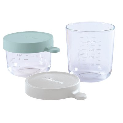 Coffret 2 portions en verre Beaba
