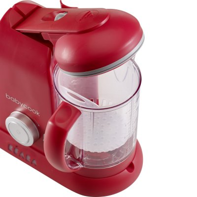 Babycook solo robot cuiseur-mixeur rouge Beaba