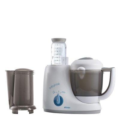 Robot de cuisine babycook original plus grey / blue Beaba